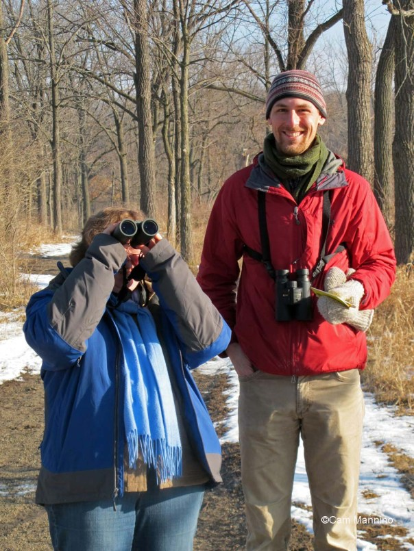 Ben and Sigrid at Bear Creek Nature Park, April 1, 2015.