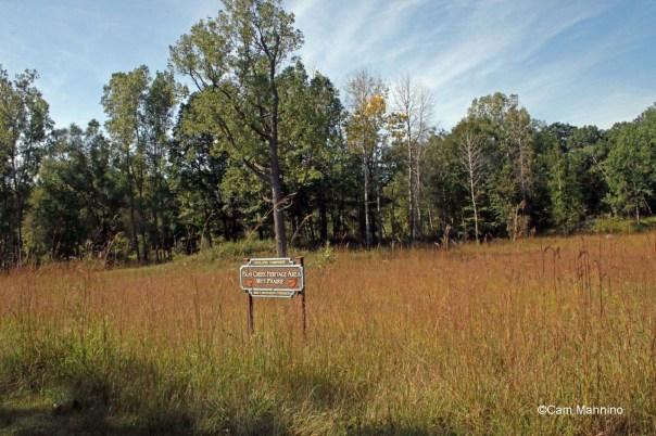 Sign for wet prairie