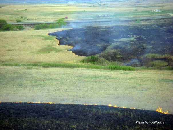 Fire on the Kansas Prairie
