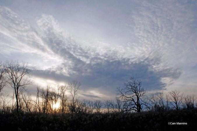 dramatic winter sunset2