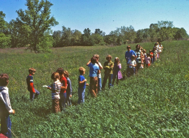 First Graders on Eastern Path 1969