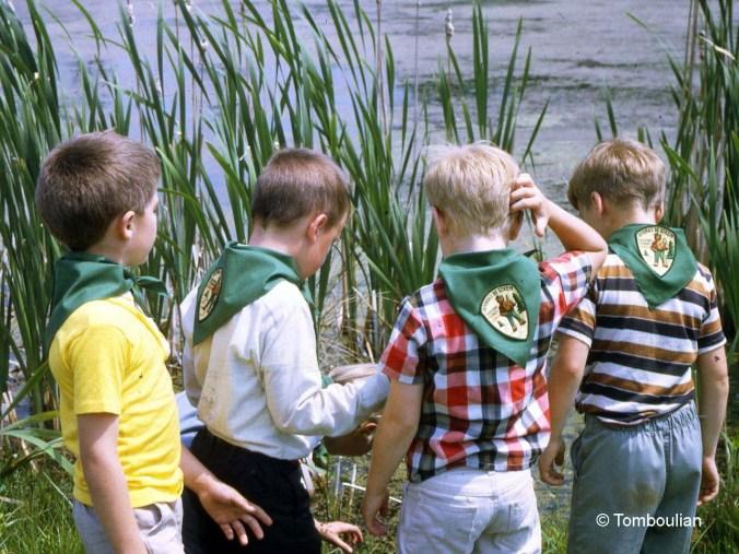 Ranger Ricks at Center Pond 1969