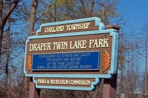 Draper sign
