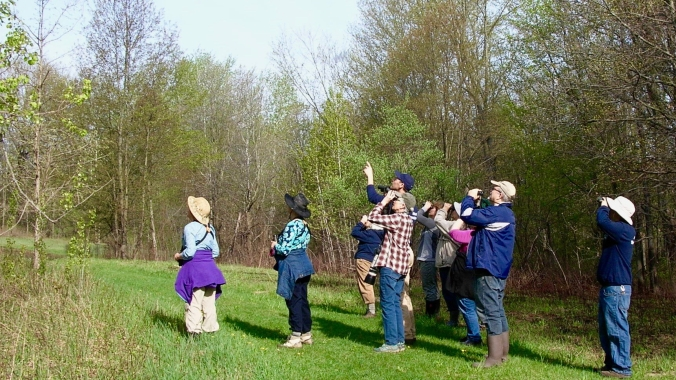 Tom's photo of birding group warblerfest