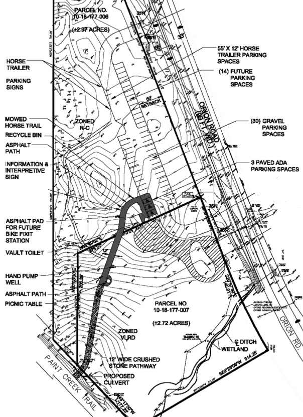 Paint Creek Junction Site Plan